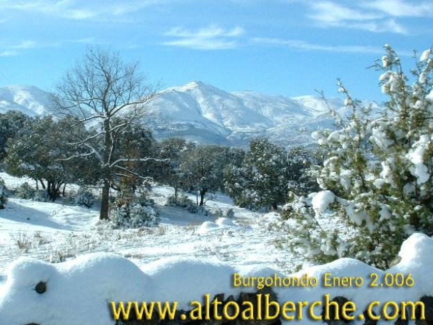 Burgohondo nevado