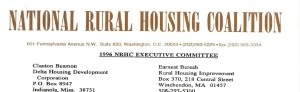 1996 NRHC Board and Executive Committee