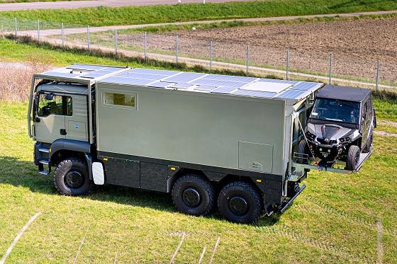 Unicat – MD56c / MAN TGS 6×6