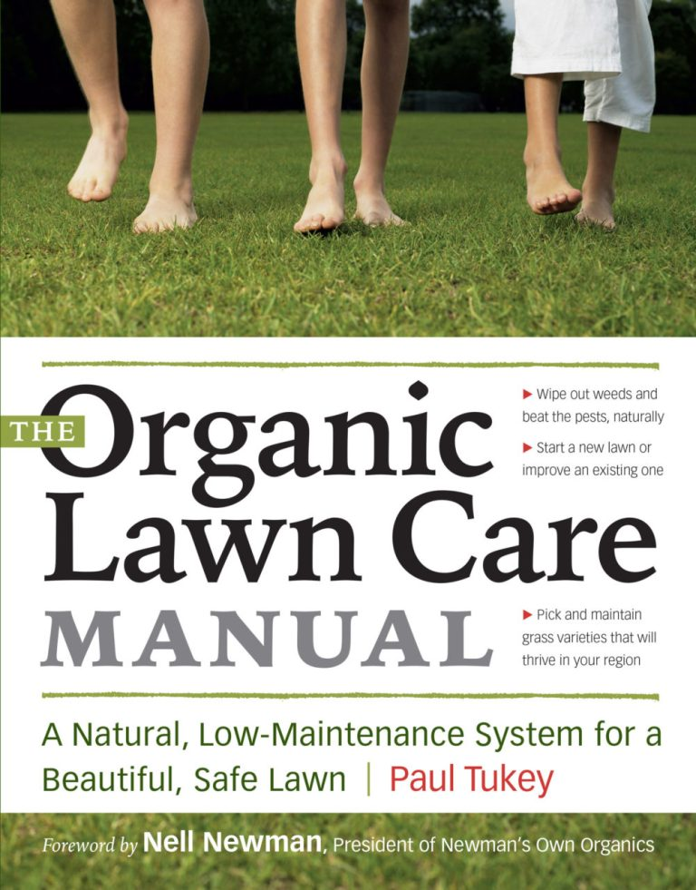 Book – The Organic Lawn Care Manual