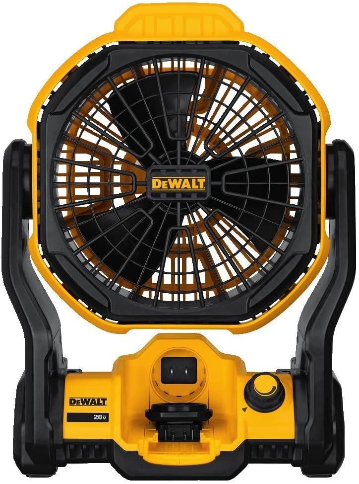 DeWalt – 11 in. Corded/Cordless Jobsite Fan