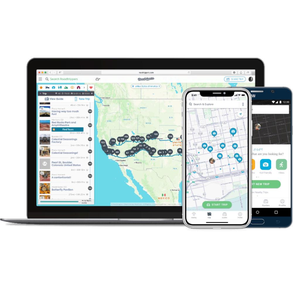App – Roadtrippers