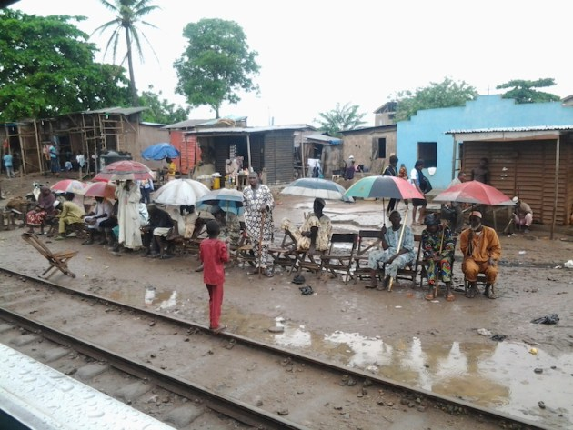 Activities by the railway will not be complete without mentioning the hausa/Fulani beggars and Internally Displaced People (IDP) who make their living begging by the railway