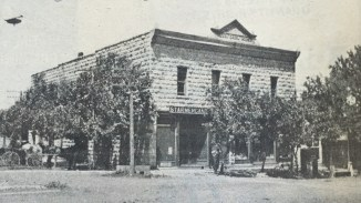 Vintage Photo of the Pearl Opera House, Alma, Kansas
