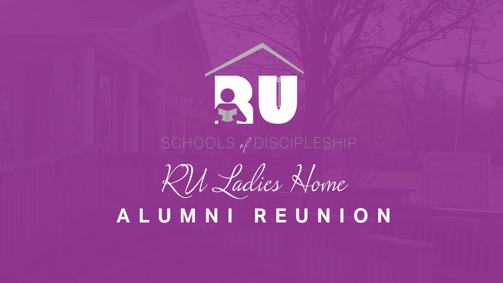 Ru Ladies Home Alumni Reunion Ru Recovery