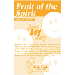 Kidz Booklet: Joy