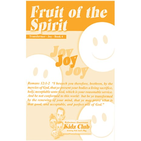 Kidz Booklet: Joy