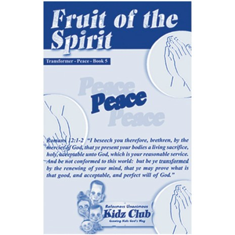 Kidz Booklet: Peace