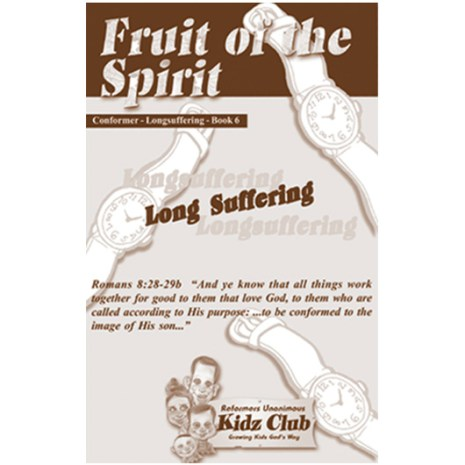 Kidz Booklet: Longsuffering
