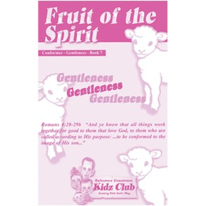 Kidz Booklet: Gentleness