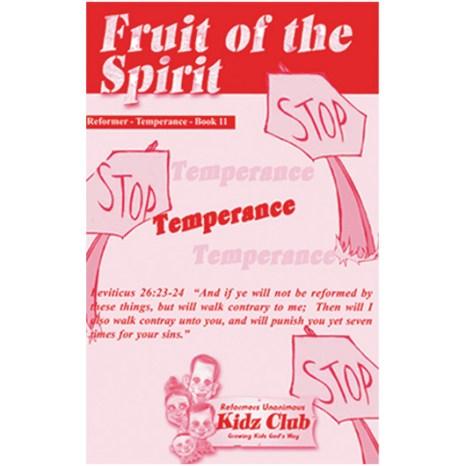 Kidz Booklet: Temperance