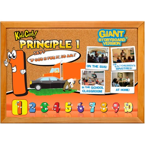 Kidz Club Principle 1 Story Board