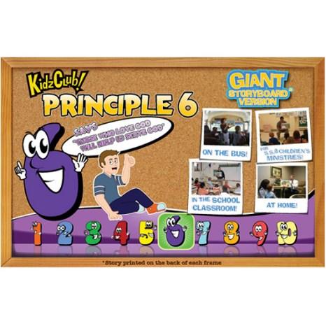 Kidz Club Principle 6 Storyboard