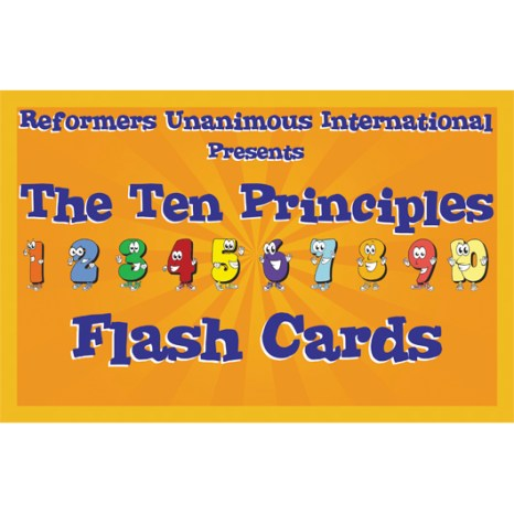Kidz Club 10 Principles Flash Cards