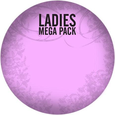Ladies Mega Pack (MP3 CD)