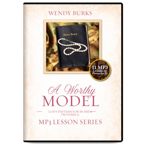 A Worthy Model (MP3 CD)