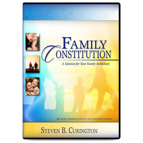 The Family Constitution Training DVD and Document CD