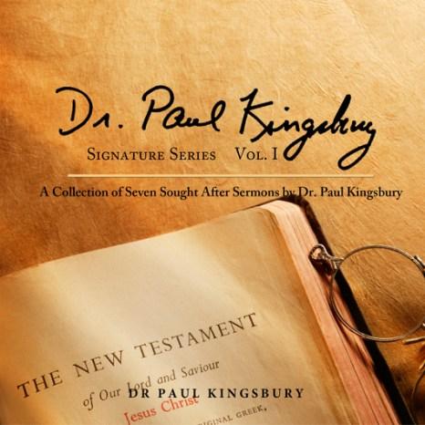 Dr. Paul Kingsbury Signature Series Vol. 1 (Audio CD)