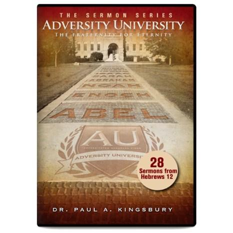 Adversity University Sermon Series (MP3 CD)