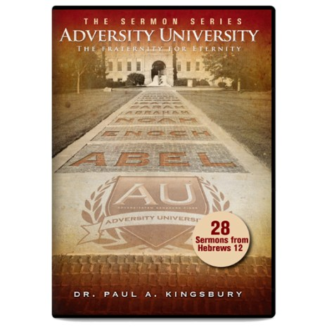 Adversity University Sermon Series (MP3 CD)