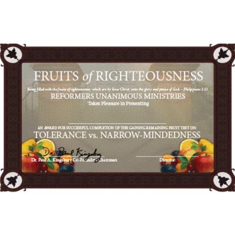 Threshold Certificate: Tolerance