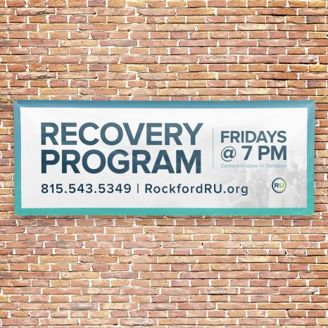 RU Recovery Program Outdoor Connect Banner