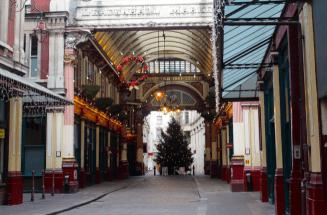 Leadenhall Market (a.k.a Diagon Alley)