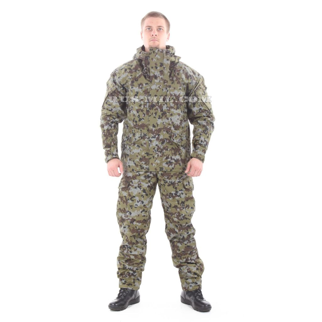 """Gorka-5 suit in """"tsifra-2"""" 'digital-2' with fleece removable lining on sale"""