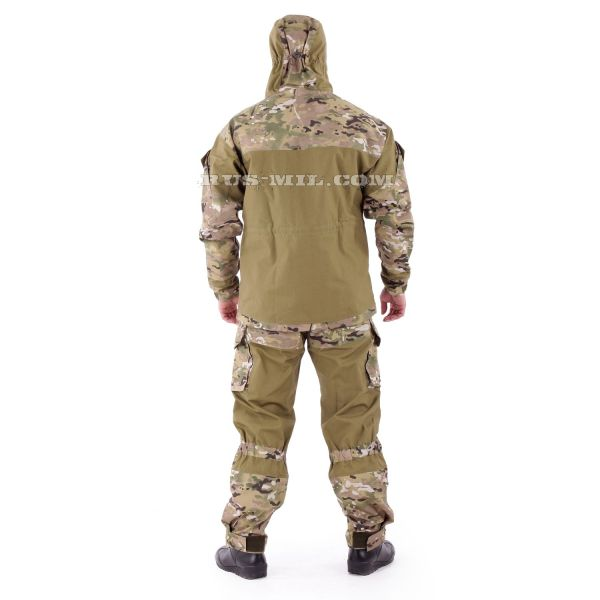 Gorka-3 Khaki colour with pads in Multicam on sale