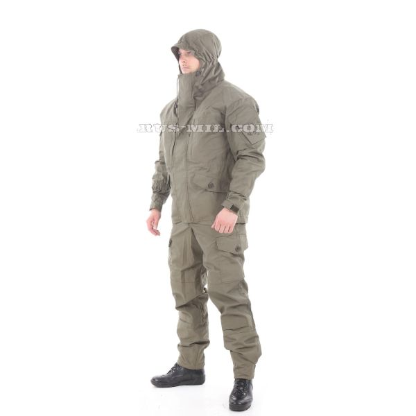 Gorka-5 suit in Olive with fleece removable lining