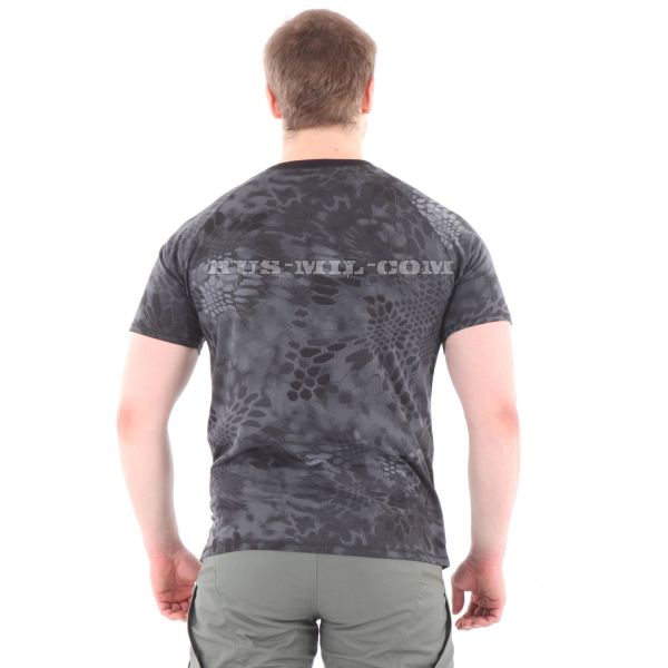 Russian Cotton T-Shirt in Typhon for sale