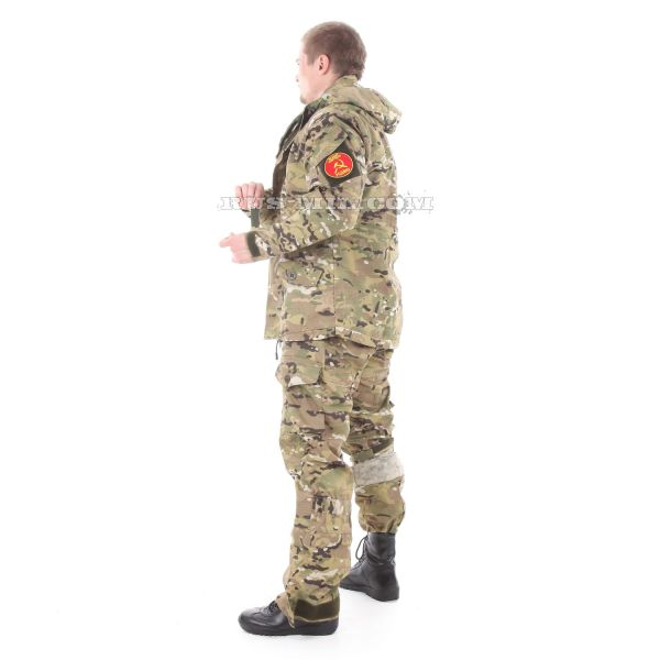 Russian Gorka-5 suit in multicam with fleece removable lining