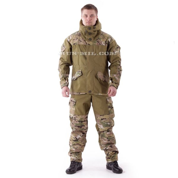 buy Gorka-3 Khaki colour with pads in Multicam
