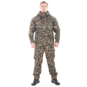buy Gorka-5 suit in digital wood with fleece removable lining