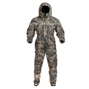 Buy membrane fleece lined Gorka suit in AT-digital colour
