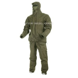 Buy membrane fleece lined Gorka suit in Olive Dark colour
