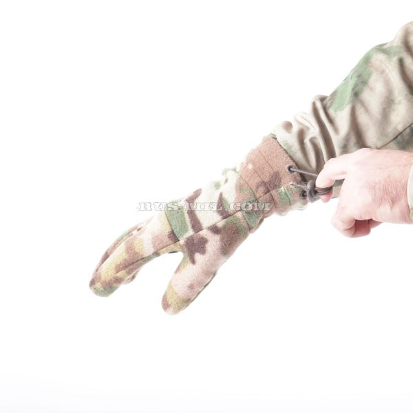 Gloves Keotica fleece in color Multicam on sale