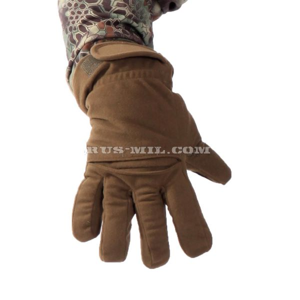 Gloves Keotica membrane on fleece Olive