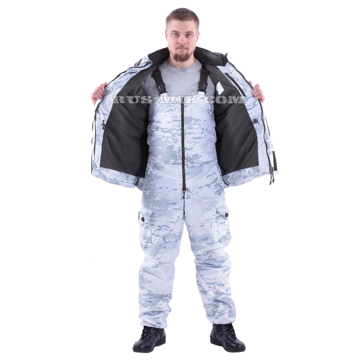 """Gorka"": Fleece Lining, Membrane. Increasing the Level of Protection against Wind"