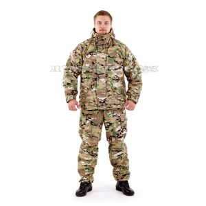 membrane fleece lined Gorka suit in multicam