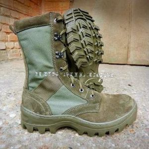 Boots Garsing with high berets m. 516 olive Shot, olive