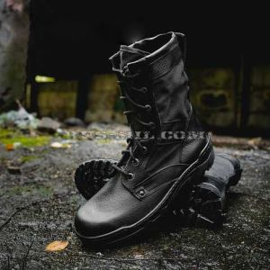 Garsing boots with high berets 16 Shot black