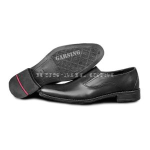 Low shoes Garsing man's 44 Russian Officer color black