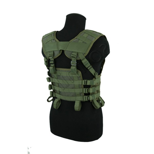 """Russian """"Nerpa molle"""" tactical vest base sposn olive"""