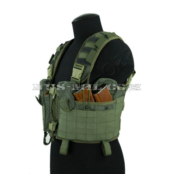 """Nuker"" russian tactical vest olive sposn"
