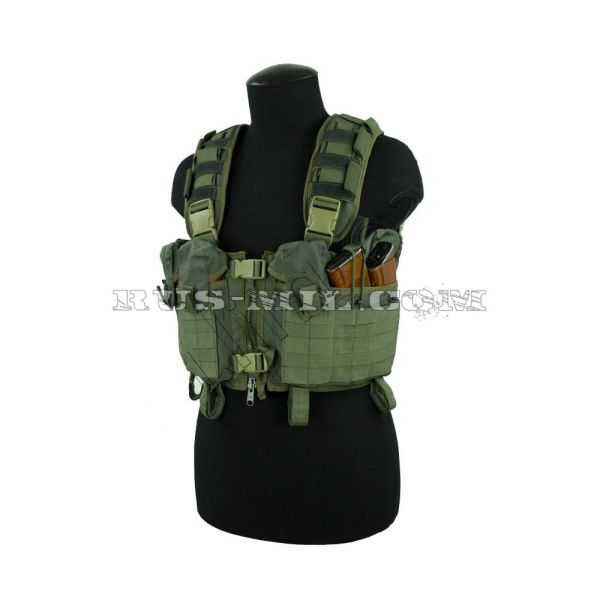 """Nuker"" russian tactical vest olive sso"