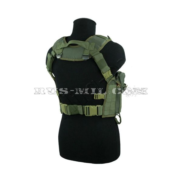 """Nuker"" tactical vest olive sso"