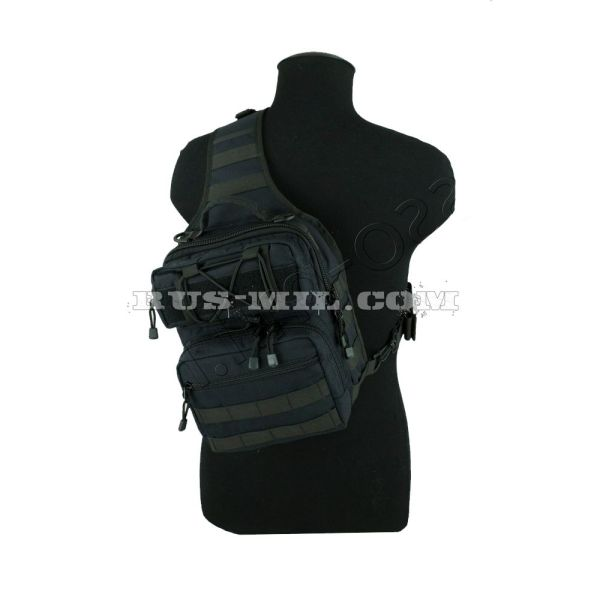 buy Russian Max pro shoulder bag sso sposn black pattern