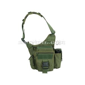buy russian Max shoulder bag by sposn olive pattern