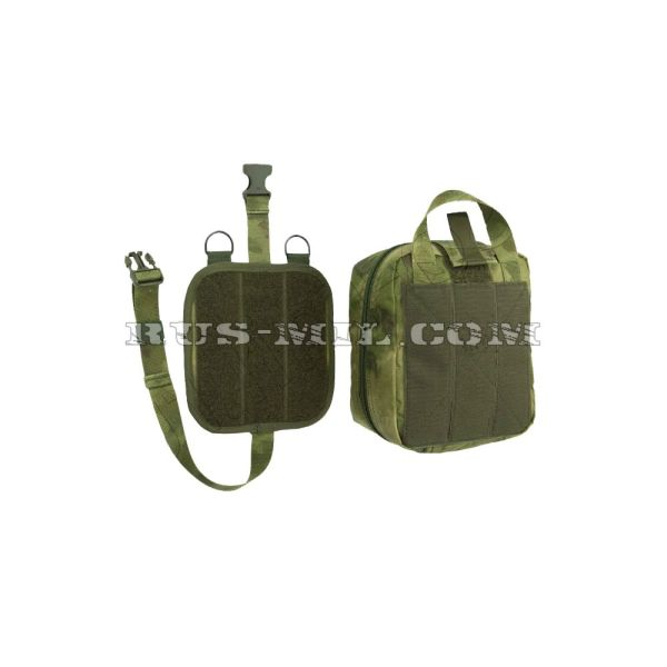 First-aid molle big pouch moss pattern